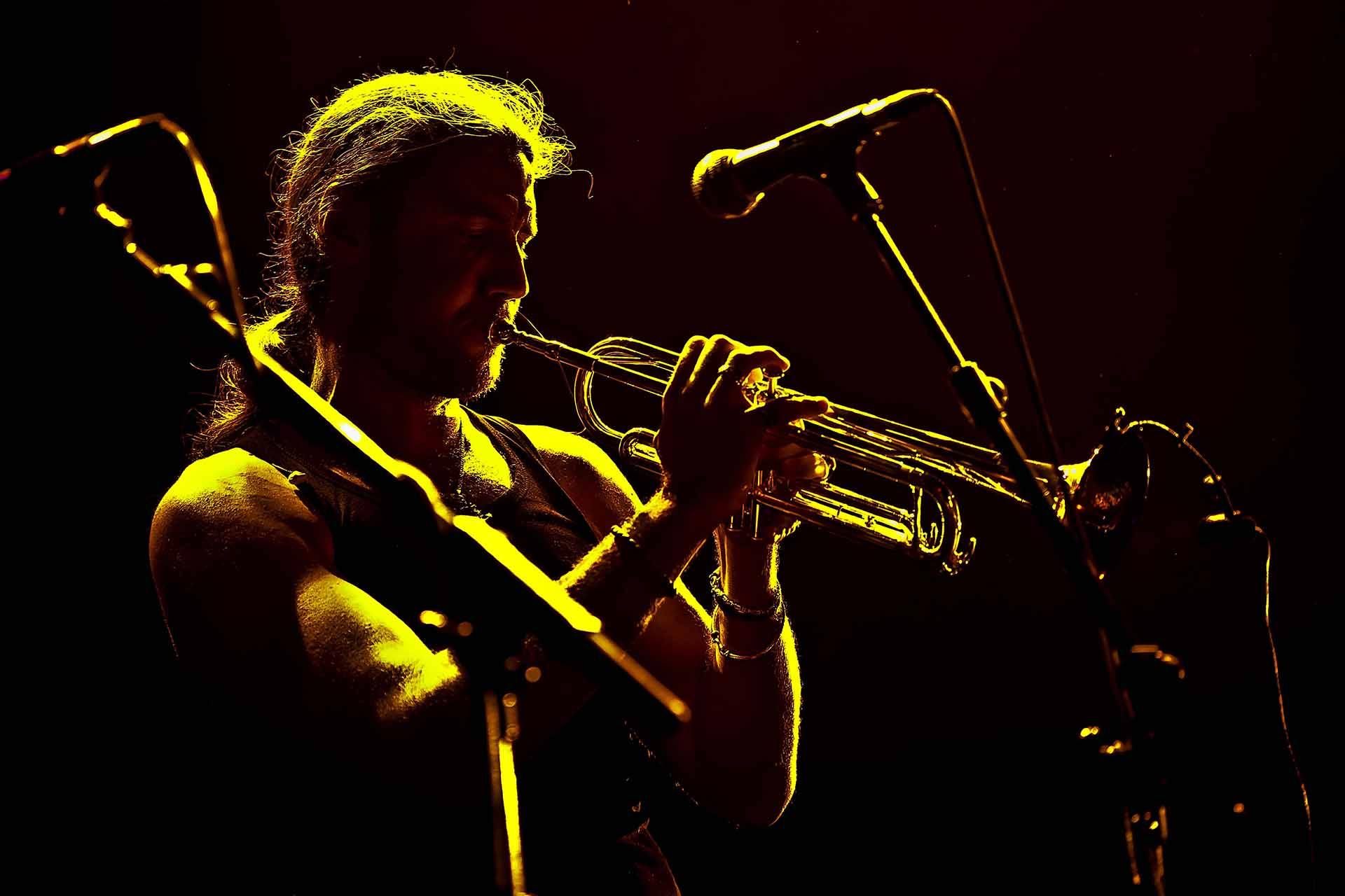 El trompetista solitario